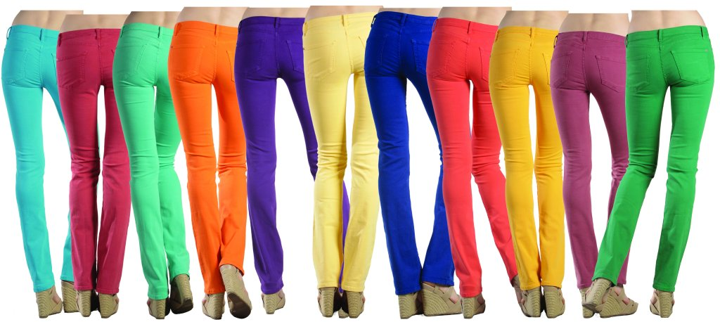 How to Wear Colored Skinny Jeans - Sarah Scoop