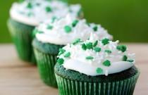St. Patrick's Day Baking: Green Velvet Cupcakes