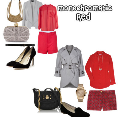 Monochromatic Series- Red Hot