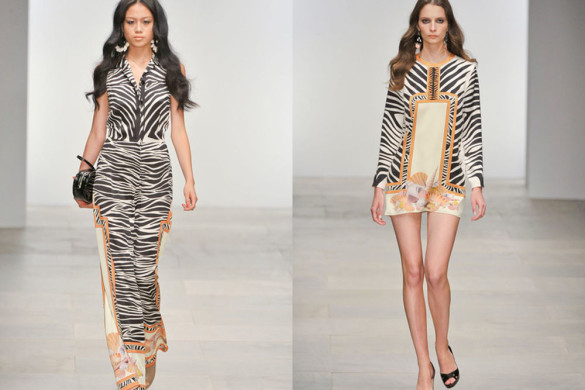 Zebra-Print-of-Holly-fulton-at-London-Runway-Spring-Fashion-2012