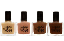 Strip Off The Color {The Nude Nail Trend}