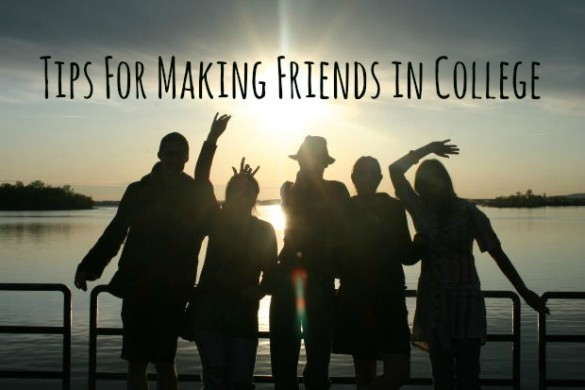 Tips For Making Friends in College