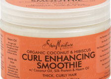 Shea Moisture Organic Coconut & Hibiscus Curl Enhancing Smoothing for Thick, Curly Hair