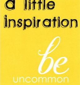 a-little-inspiration