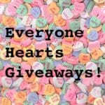Everyone Hearts Giveaways {17 winners} {Ends 2/17}