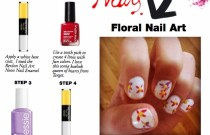 Floral Nail Art #TargetStyle