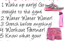 Workout Wednesday: Top 5 Workout Tips