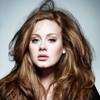 adele volume hair