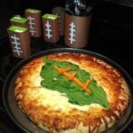 Football Inspired Vegetable Pizza #GameTimeGoodies #shop #cbias