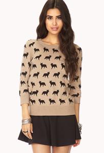 fox sweater forever 21