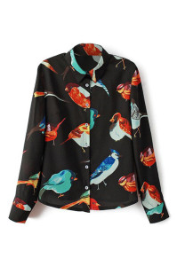 parisiscoming bird shirt