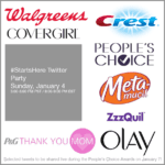 P&G Beauty and Walgreens People's Choice Awards Twitter Party