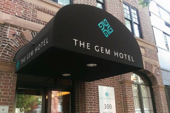 The GEM HOTEL is so beautiful.  I loved my stay here.