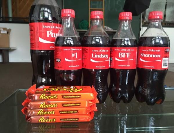 coke & reeces