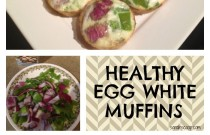 Simple Healthy Egg White Muffins