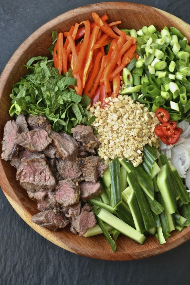 Thai Beef Salad Recipe — Dishmaps