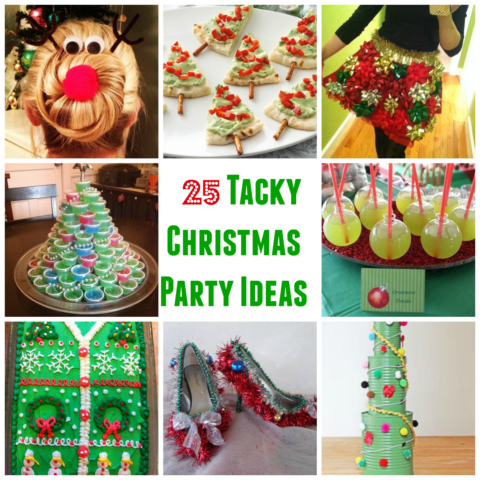 Christmas Party Ideas.25 Genius Tacky Christmas Party Ideas Sarah Scoop