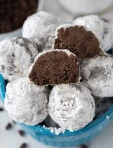 double choc snowball