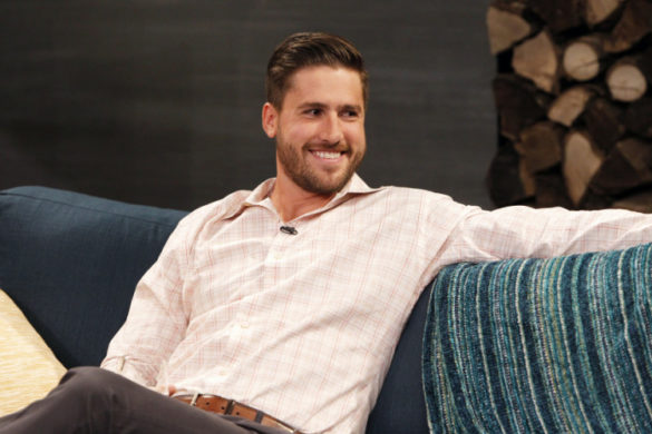 "BACHELOR IN PARADISE: AFTER PARADISE - ""Episode 103"" - Jason Biggs (""American Pie,"" ""Orange Is the New Black"") joined his wife, co-host Jenny Mollen, and host Chris Harrison as a panelist, along with director James Gunn (""Guardians of the Galaxy"") and contestants JJ and Juelia on ABC's after-show ""Bachelor in Paradise: After Paradise,"" on MONDAY, AUGUST 17 (9:01-10:01 p.m., ET/PT) following ""Bachelor in Paradise.""  (ABC/Rick Rowell) JJ LANE III"