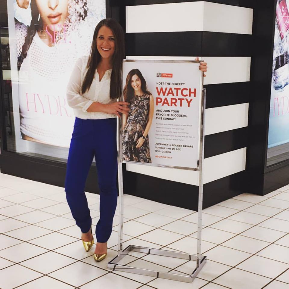 5633c76a0f50 You may remember a few weeks ago I teamed up with JCPenney to host an event  for them focused around my tips for throwing a successful watch party.