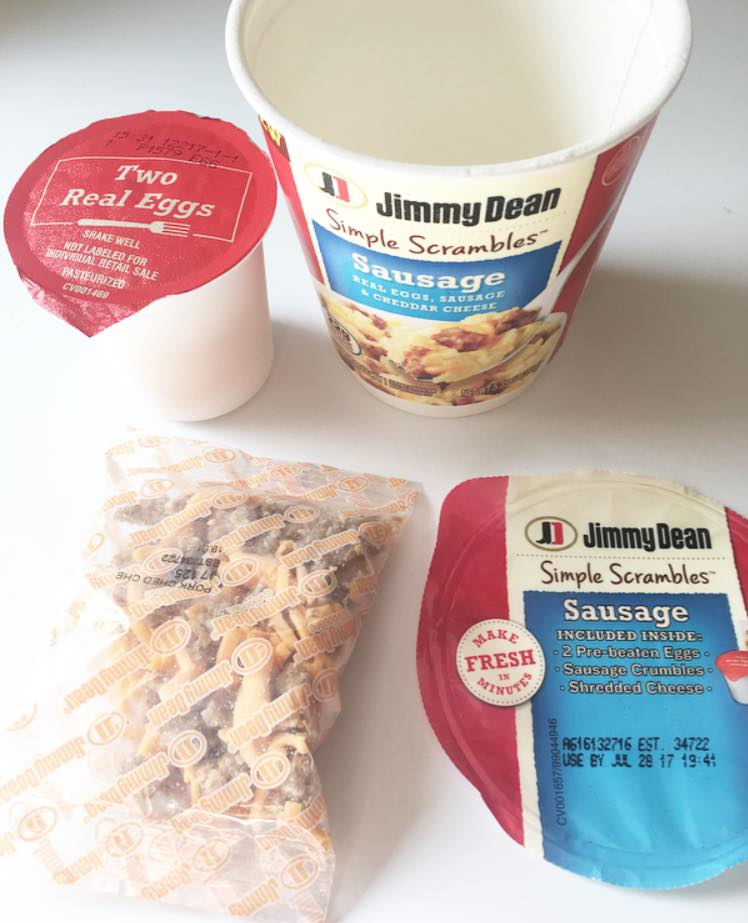 Jimmy Dean Simply Scrambles package contents