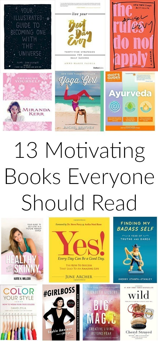 13 Motivating Books Everyone Should Read