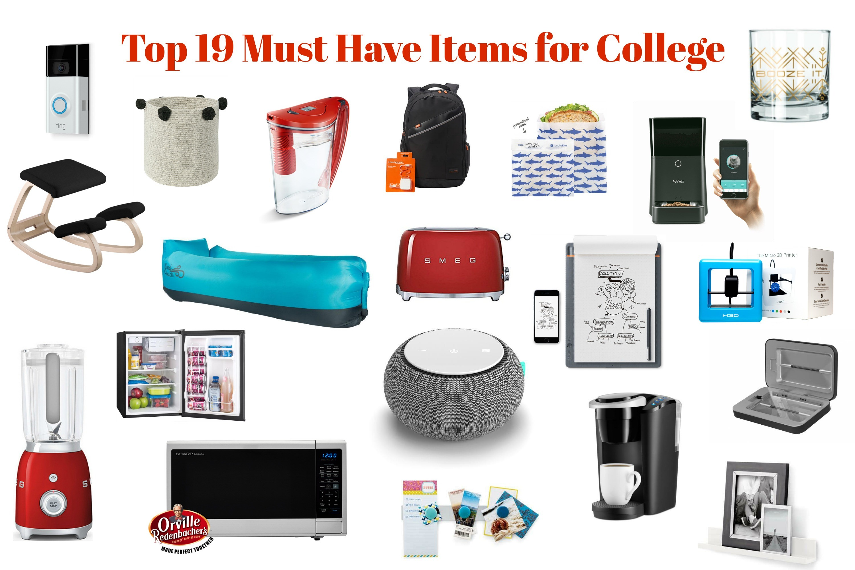19 Must Have Items for College Life | Sarah Scoop