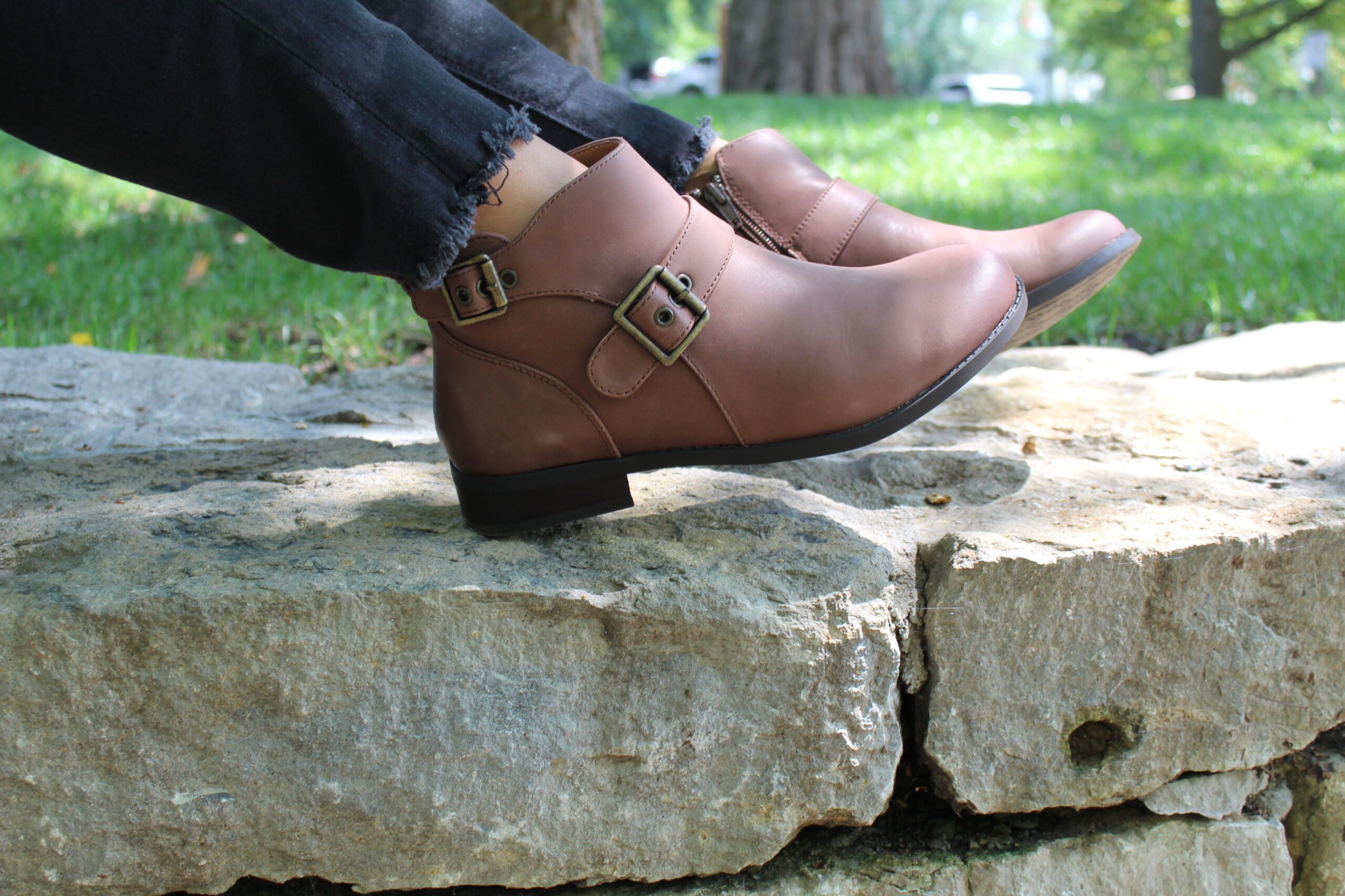 687014fb9a0c The Logan Bootie is the perfect shoe transitioning from the summer heat to  the cold days of winter. Fall is a huge transitional time of the year when  it ...