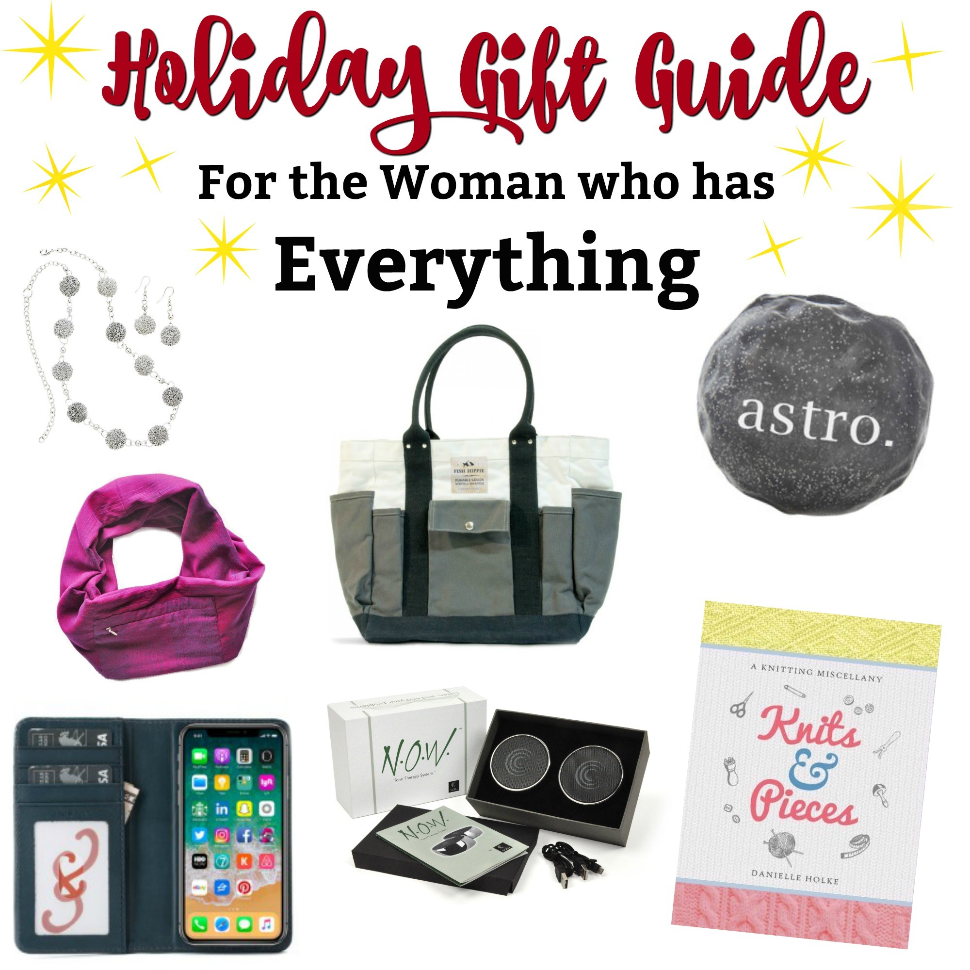 gift guide for the woman who has everything - -