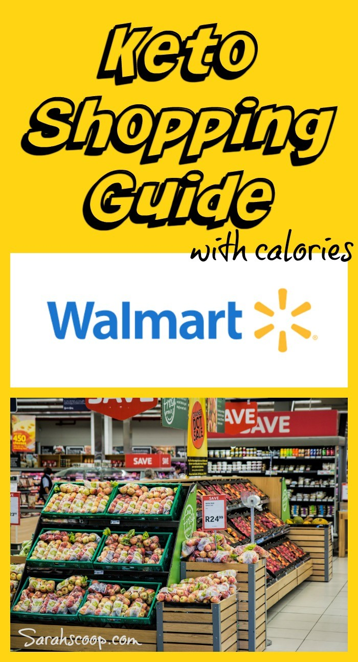 Keto Friendly Walmart Shopping Guide With Calories Carbs