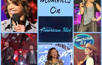 Top moments on american idol