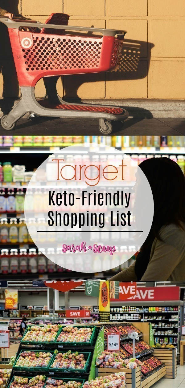 Low-Carb Keto-Friendly Target Shopping List - Sarah Scoop