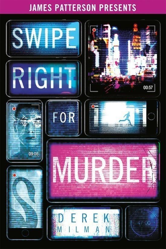 Swipe Right For Murder by Derek Milman book cover