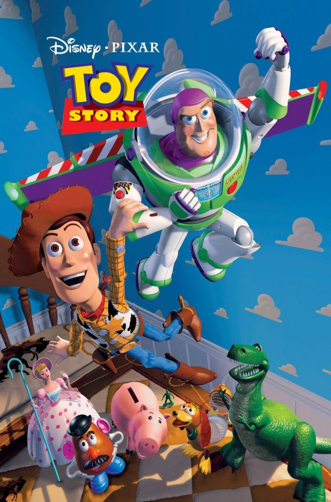 Poster for the first Toy Story movie