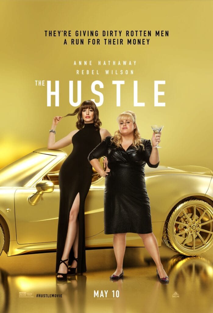 Movie poster for The Hustle
