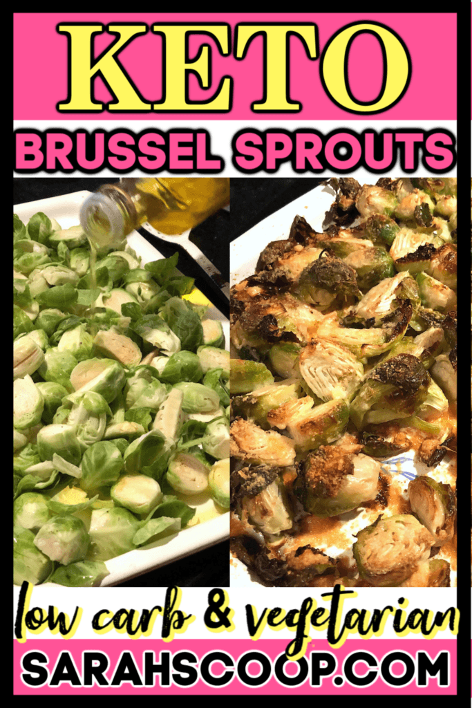 Low Carb Parmesan Brussel Sprouts Recipe - Sarah Scoop
