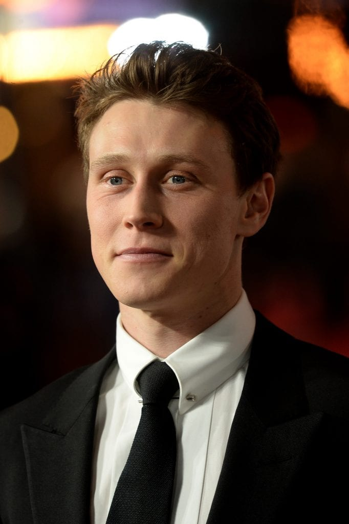 "George MacKay at ""1917"" World Premiere"