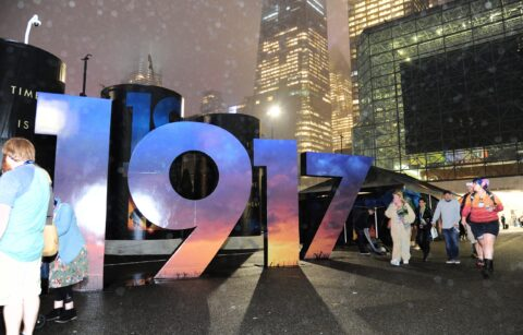 1917 Reception at New York Comic Con for Universal Pictures and Amblin Partners' 1917, the new epic from Oscar®-winning filmmaker Sam Mendes