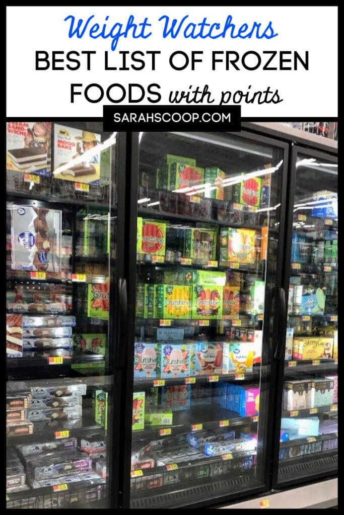 Weight Watchers Frozen Foods Weight Watchers Sarah Scoop