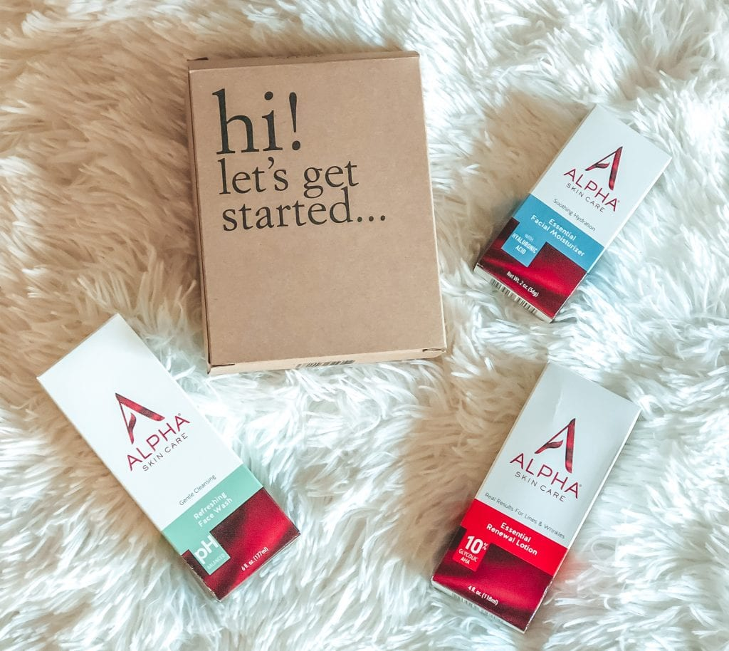 Alpha skincare introductory kit