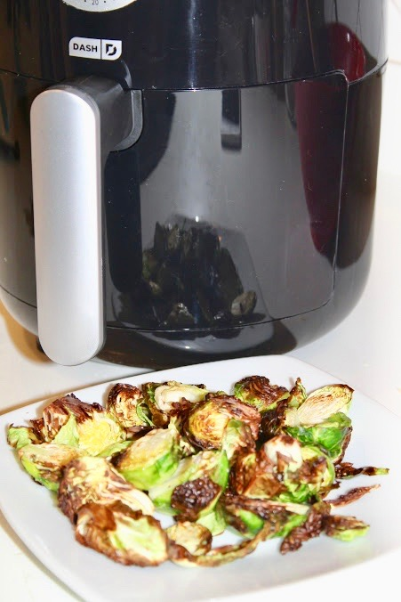 Air Fryer Crispy Brussels Sprouts Recipe