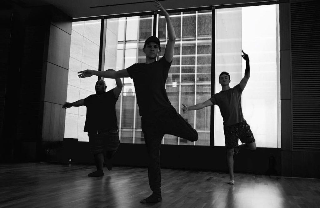 Tom began as a dancer