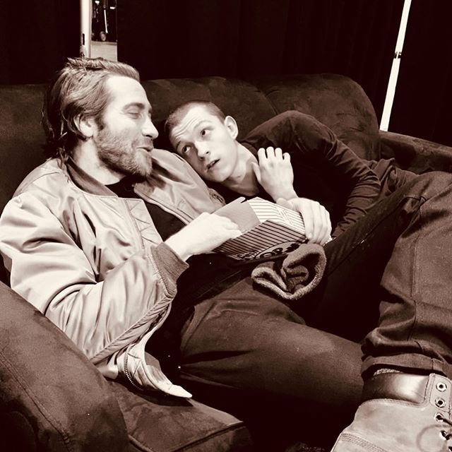 Tom Holland and Jake Gyllenhaal