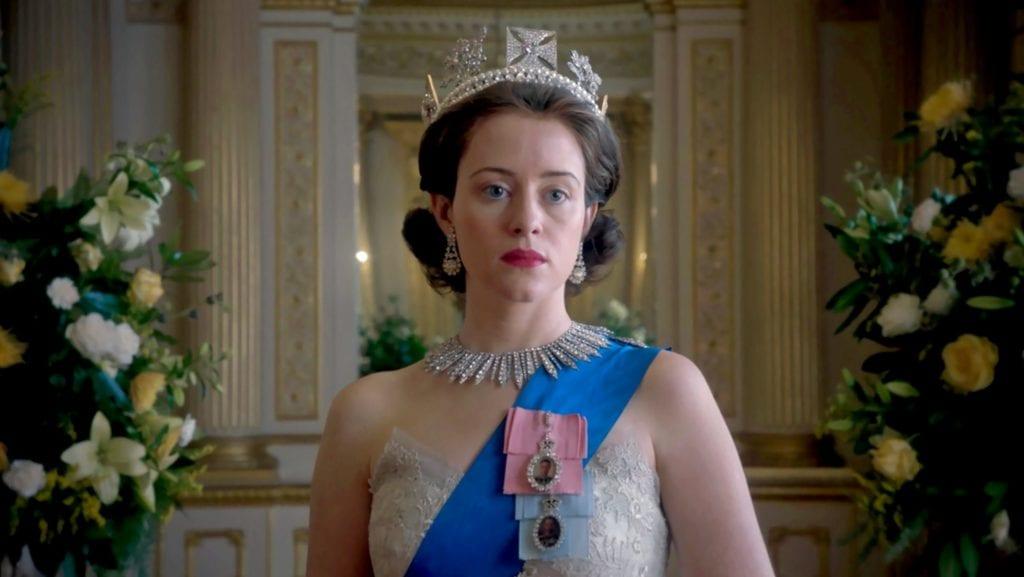 Binge watch The Crown on Netflix