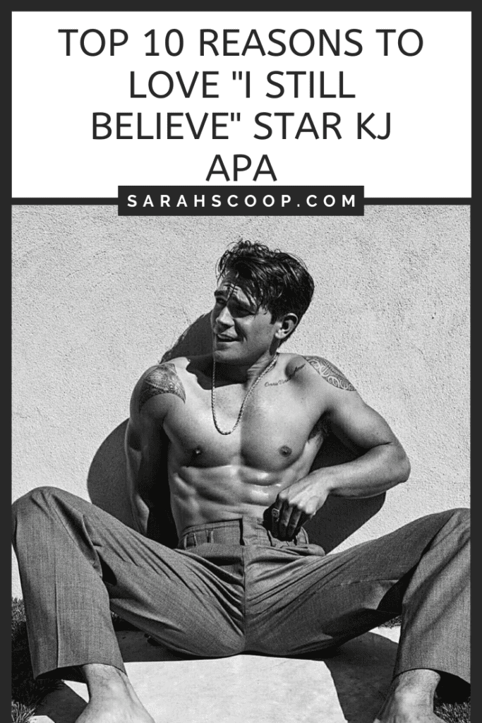 Pinterest image 10 Reasons to love KJ Apa