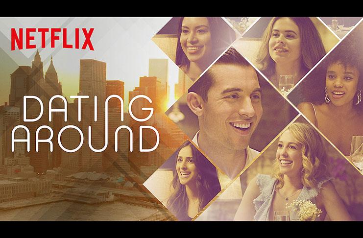 """""""Dating Around"""" key art"""