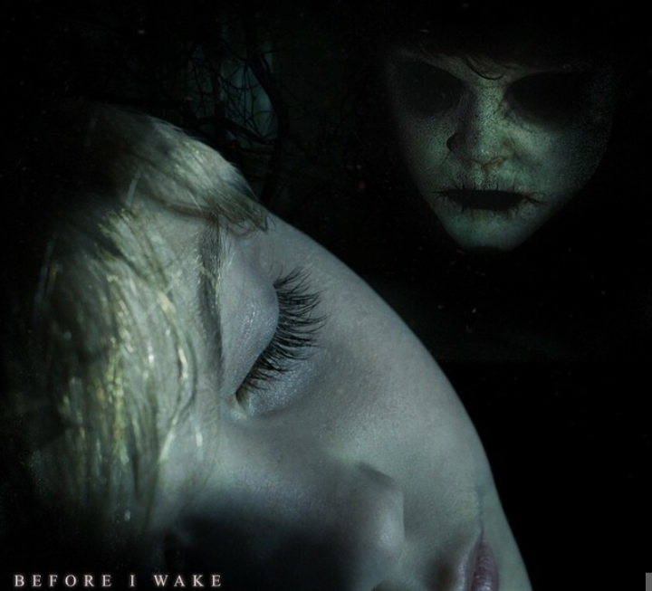 Before I Wake scary movie poster