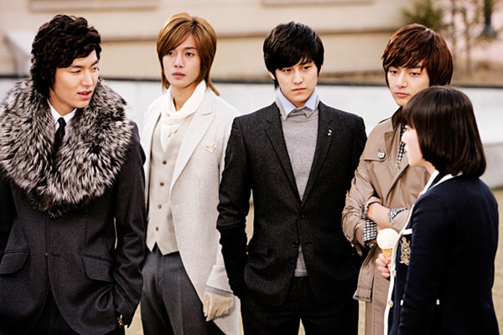 Actors of Boys Over Flowers