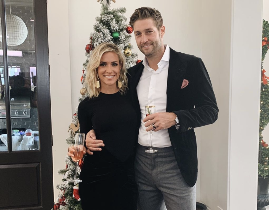 Kristin Cavallari And Jay Cutler at Christmas time