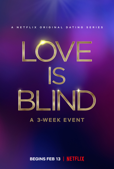 """Love is Blind"" key art"
